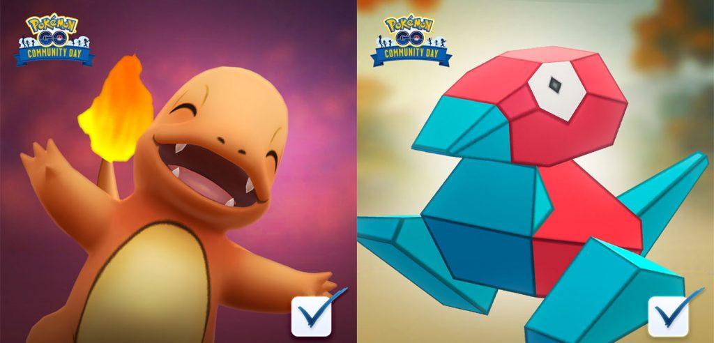 'Pokémon Go' Players Vote Porygon and Charmander For Next Community Days