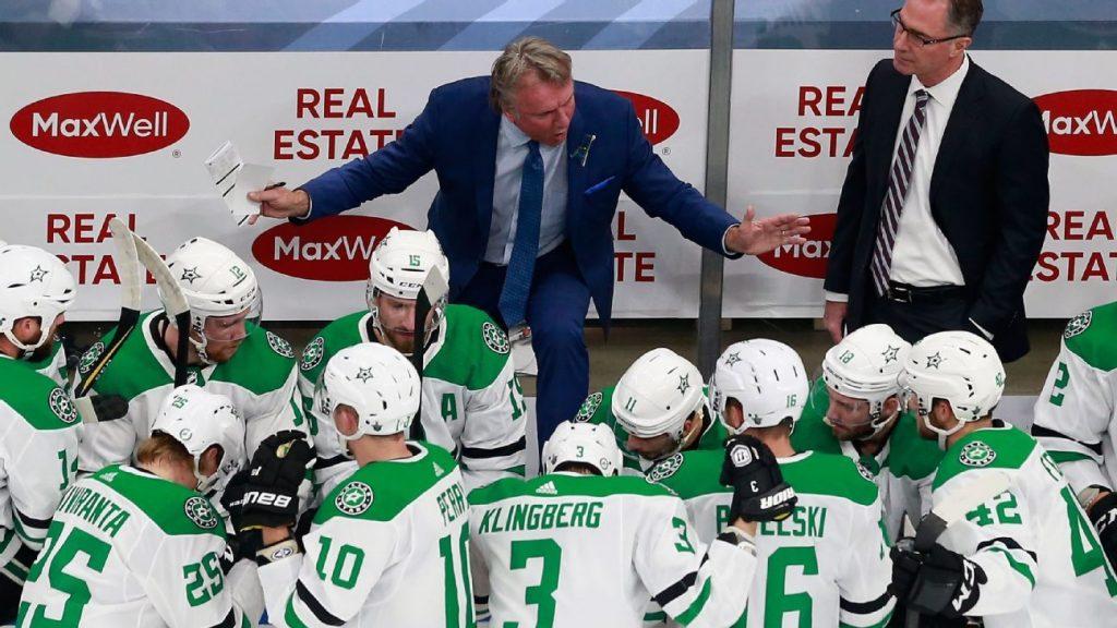 Stars' comeback win typical of wild bubble hockey, coach says
