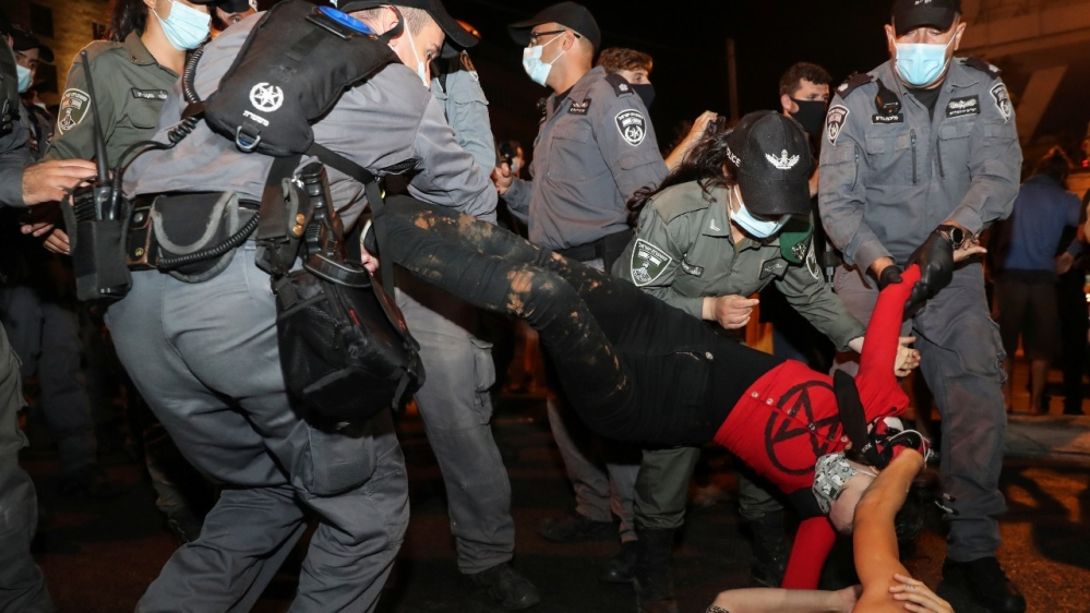 Tens of thousands of anti-Netanyahu protesters hit Israel streets   Israel News