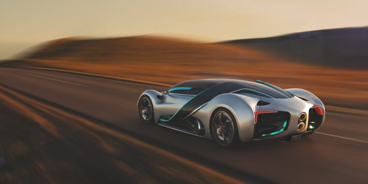 The Hyperion XP-1 hypercar wants to give hydrogen a halo effect