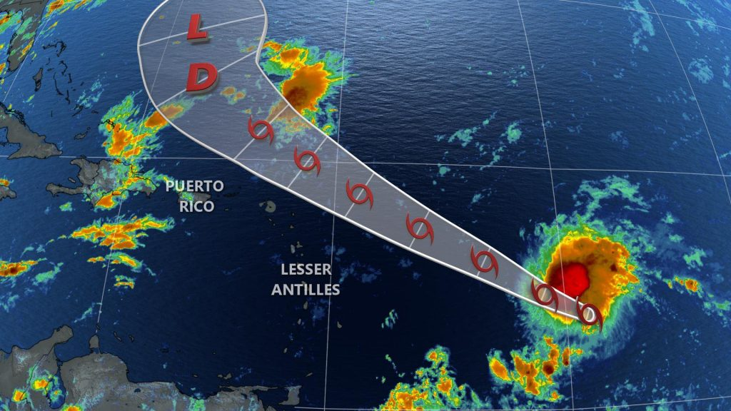 The Weather Network - Josephine comes to life in the Atlantic: Track and impacts, here