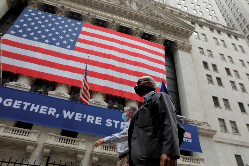 Wall Street mixed as traders book profits; eyes on Tesla, Apple split