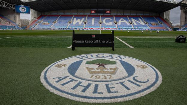 Wigan Athletic relegated after losing appeal against 12-point penalty