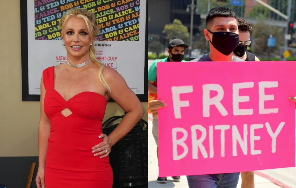 Britney Spears is reportedly supporting the #FreeBritney movement