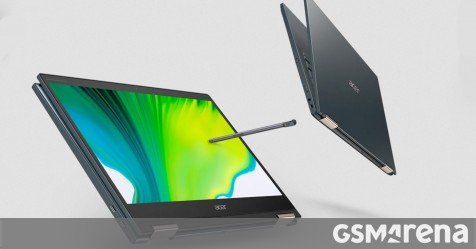 Acer Spin 7 5G uses Qualcomm's new 8CX2 chip