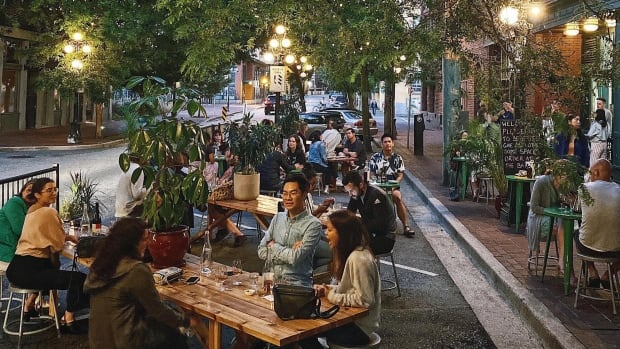The patio season in Canada is almost over.  How do restaurants survive the epidemic winter?