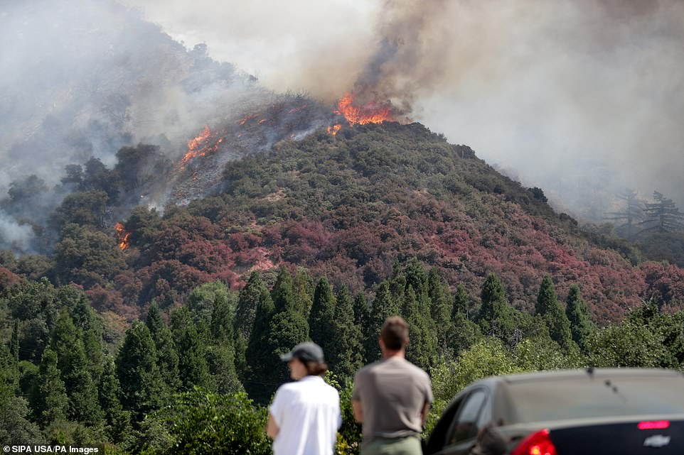 El Dorado fire wipes out more than 7,000 acres in San Bernardino National Forest near Oak Glen