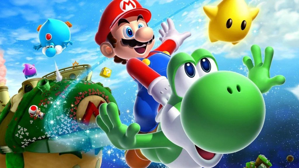 Coincidence: Can you hear?  Super Mario is similar to Galaxy 2 music in 3D All-Stars