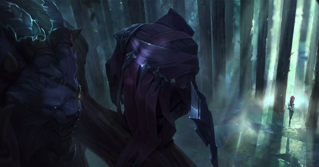 The pre-season changes of the League of Legends include new mythological elements