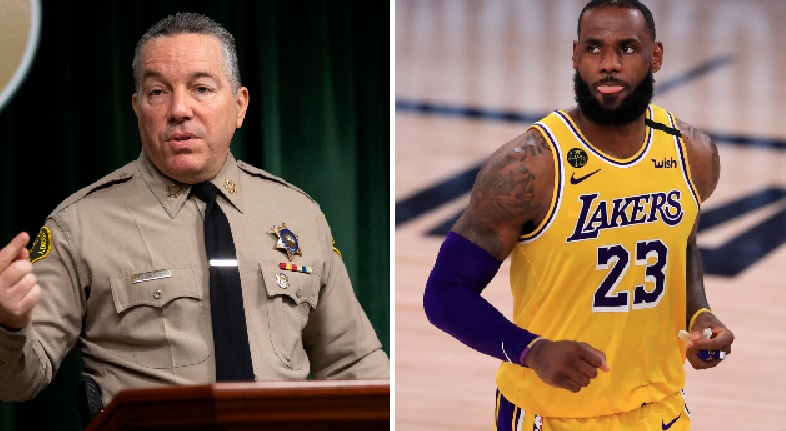 LA County Sheriff publicly challenges to match reward money to catch Compton police shooter