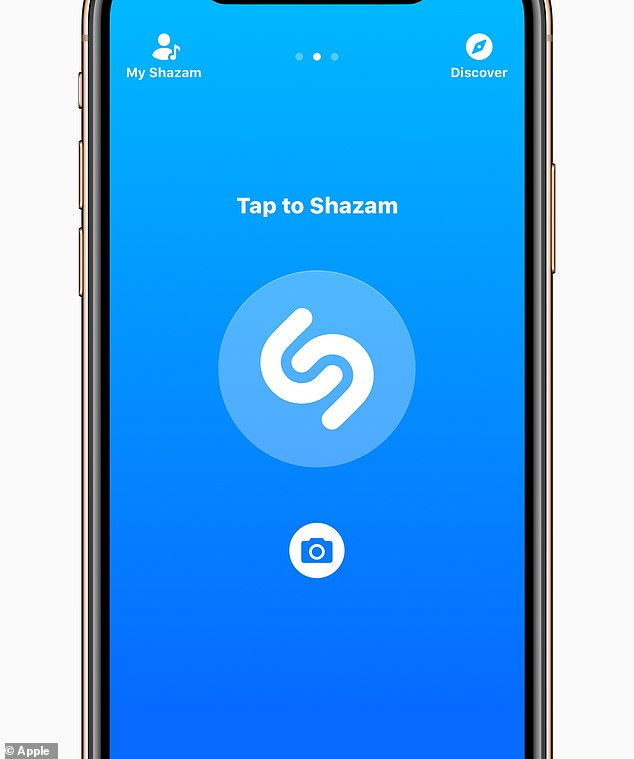 The toggle looks like the iconic Shazam app, which detects music users listening through headphones.  Users open the Control Center, press Toggle and the notification screen will appear
