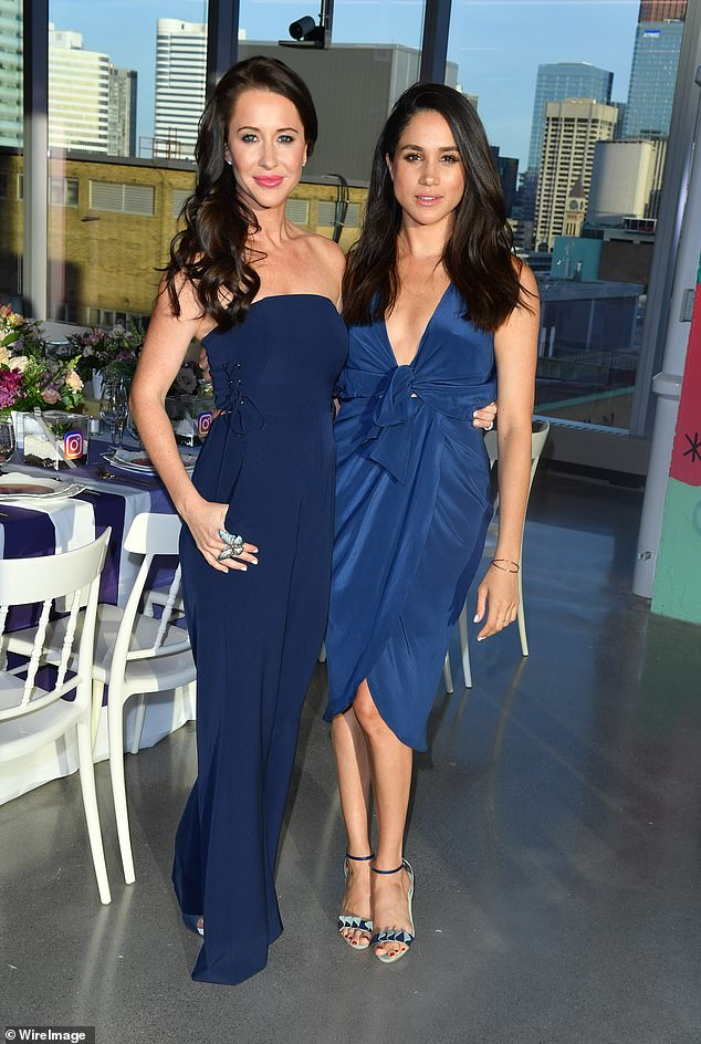It comes a few days after rumors surfaced that Jessica and 39-year-old Meghan are no longer close by claiming that Prince Harry's wife is a 'good friend' who checks me in every day.