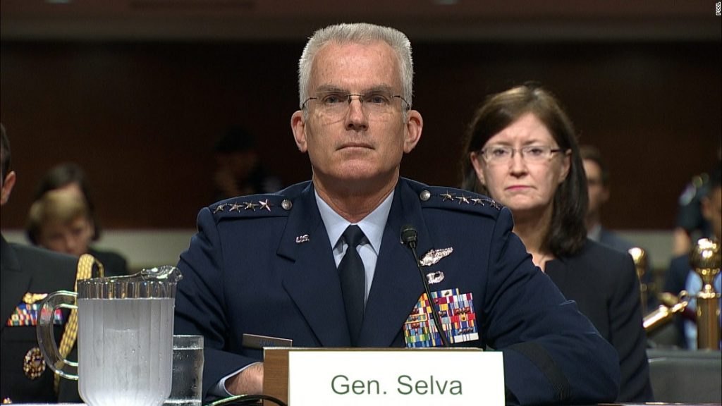 Retired top general Paul Selva, who advised Trump, is backing Biden