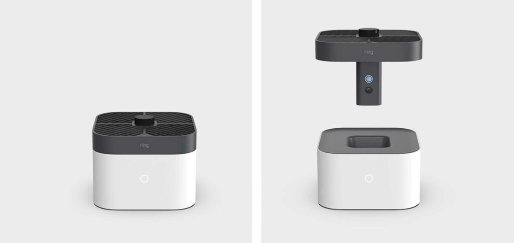 The Amazon Ring reveals a flying drone and new car alarms in your home
