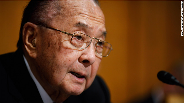 World War II veteran Daniel Enoi, who represented Hawaii in the Senate for four decades, died at 88 in 2012.