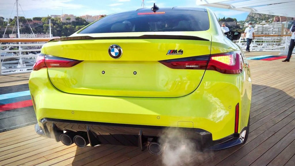 Listen to the 2021 BMW M4 competition its inline-six tune