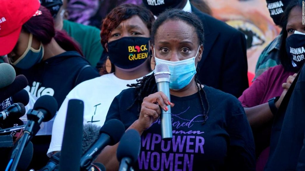 Bryona Taylor, the only black woman legislator from Kentucky, was arrested in protest