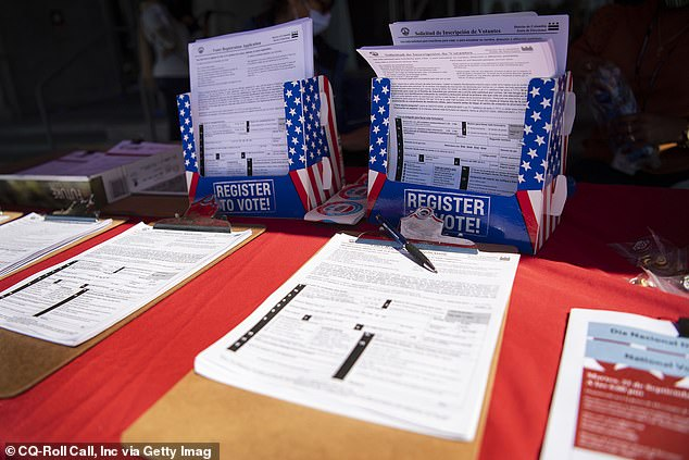 Democrats promote mail-in ballots due to pandemic image, DC Board of Elections event conducts safe DC campaign, encourages residents to vote by mail