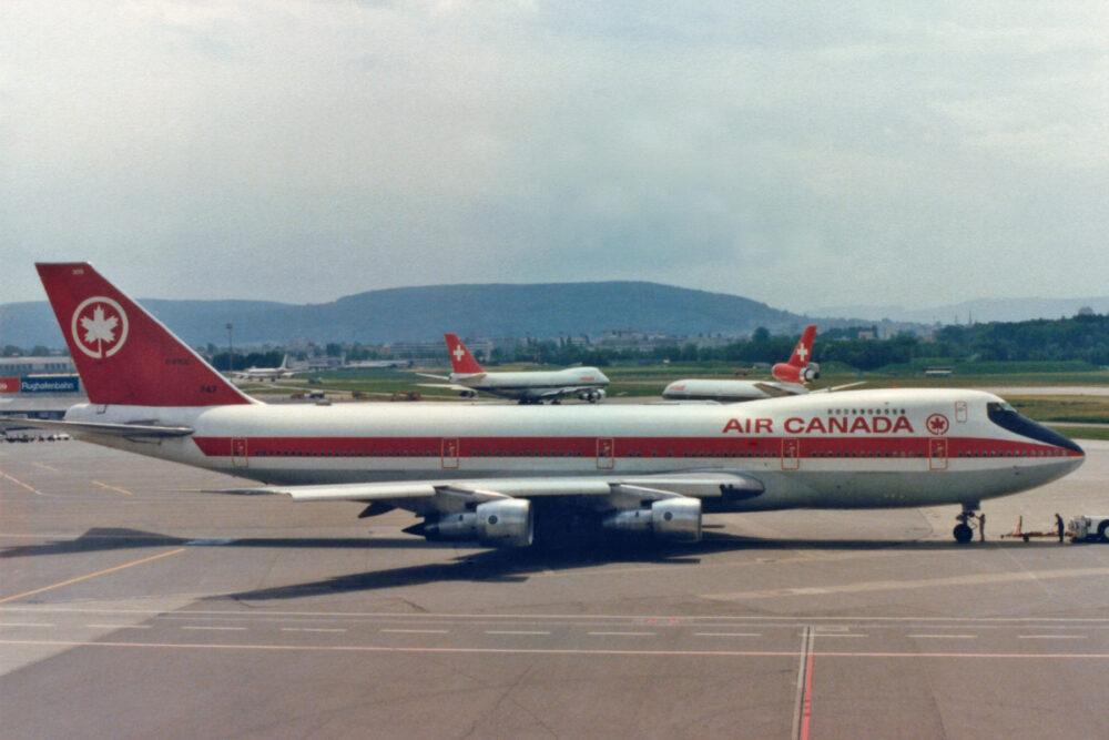 Air Canada 747s