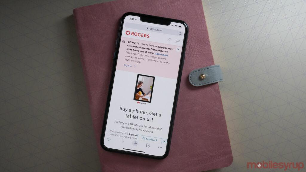 Rogers website
