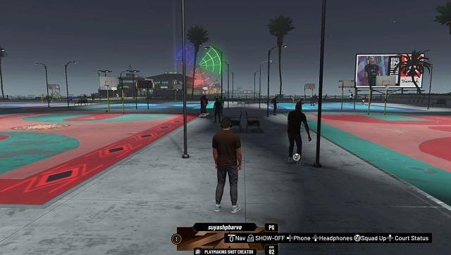 Screen grab from NBA 2K21