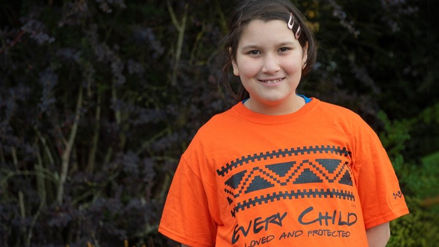 Why Orange Shirt Day is personal to this 11 year old from BC    Article