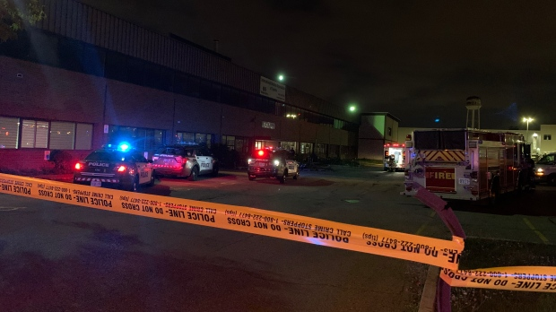 A man has been stabbed to death at a mosque in Rexdale