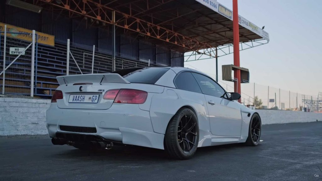 BMW M3 exciting car with Ferrari V8 and manual gearbox