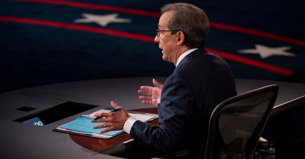 Chris Wallace debate 'a terribly missed opportunity'