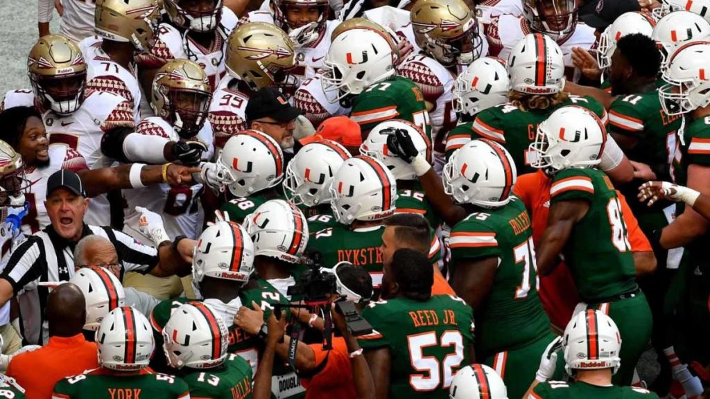 College Football Scores, NCAA Top 25 Rankings, Schedule, Today's Games: Florida State vs. Miami, Texas A&M Launched