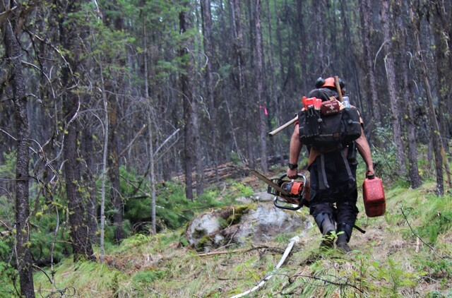 Convoy of 200 firefighters head south to assist U.S. firefighting efforts - BC News