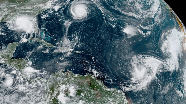 Damage reported as a 'palette' is a rare landfall in Bermuda