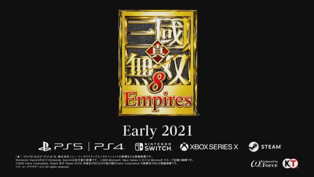Dynasty Warriors 9 Empires Revealed by Koi Techmo at TGS 2020