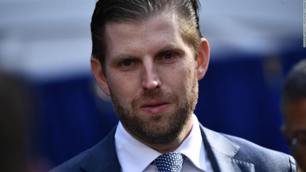 Eric Trump said he would like to be interviewed by the New York AG's office, but not until after the election