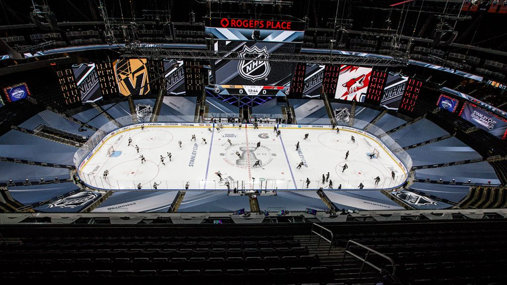 Gary Betman: NHL bubbles 'not remarkable'