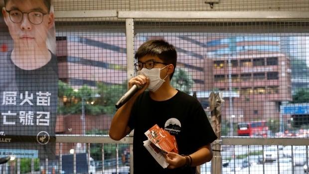 Hong Kong Democrat activist Joshua Wang arrested for 2019 unauthorized assembly