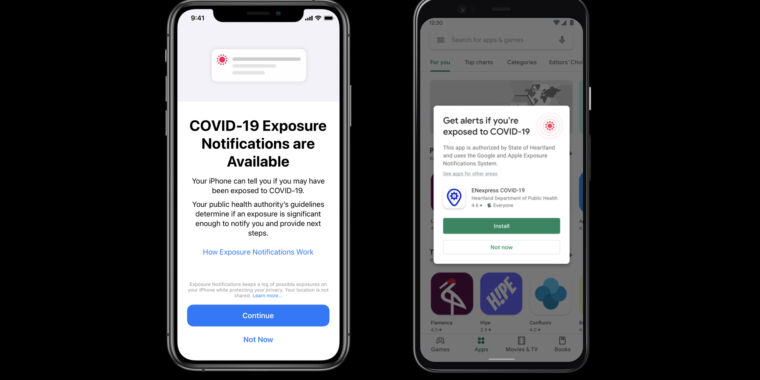 IOS 13.7 launched today with a new system to deal with the epidemic