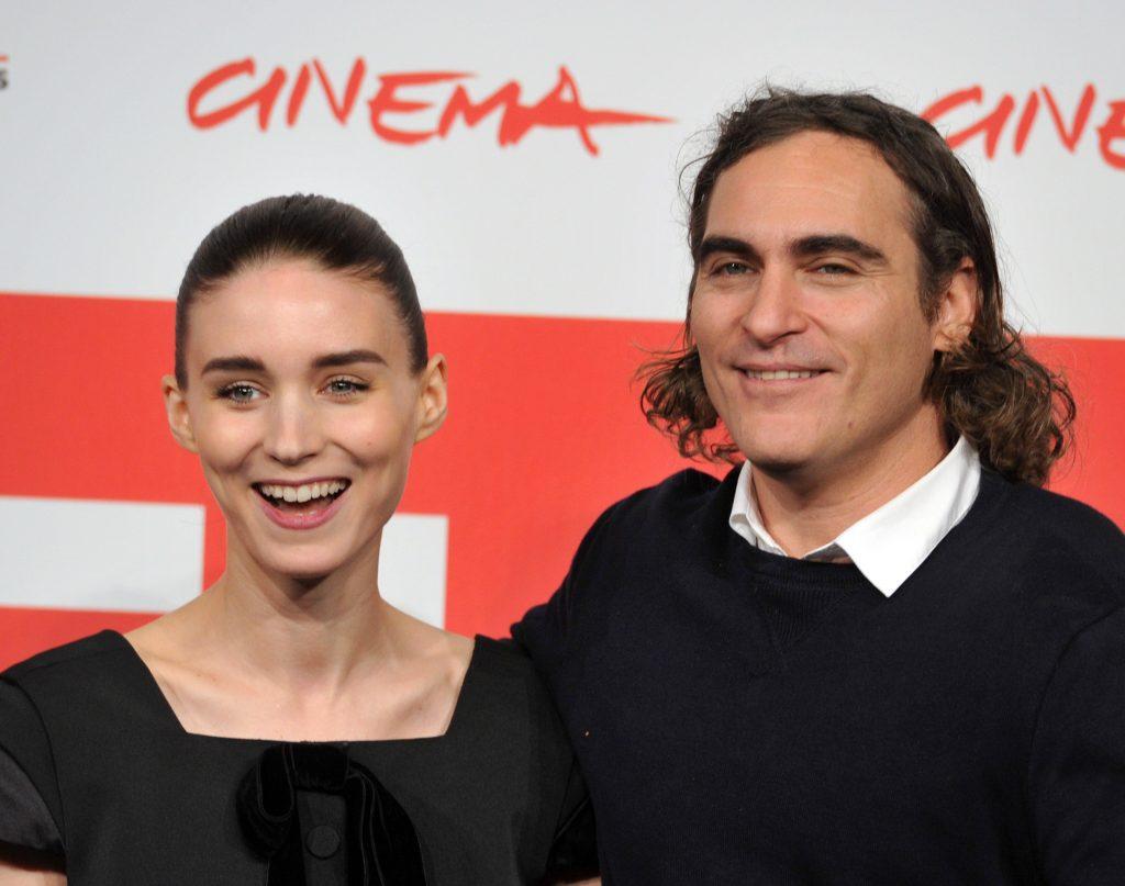 Joaquin Phoenix and Rooney Mara 'Baby Son of the River'