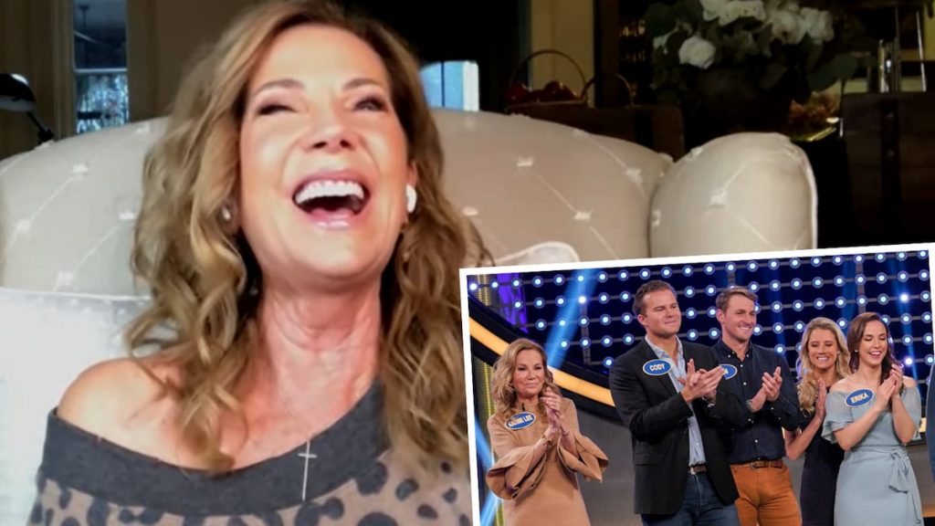 Kathy Lee Gifford reacts to Alludi Viral Celebrity Family Food Bulge