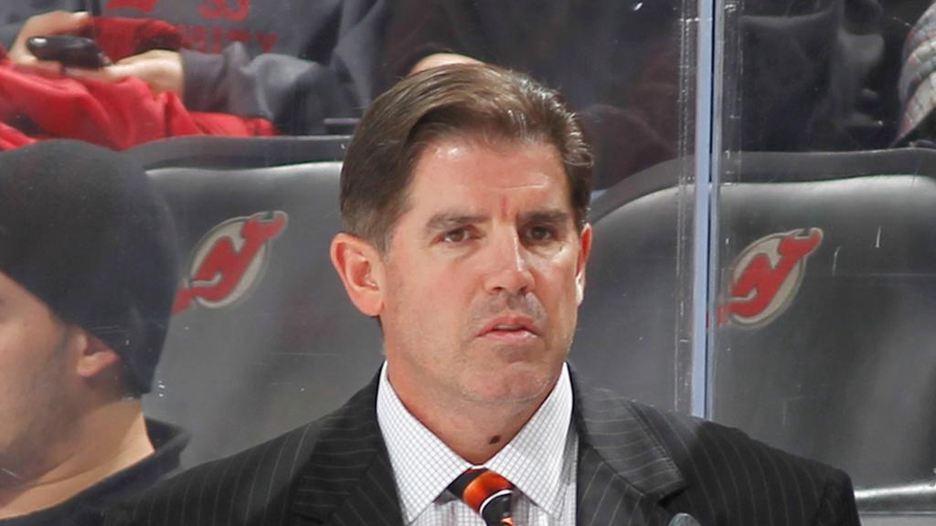 Laviolet was appointed Capitals coach