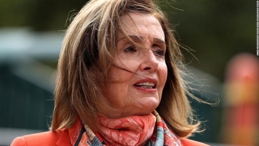 Nancy Pelosi says Trump is 'in a hurry' to confirm Barrett so she can validate Obamacare