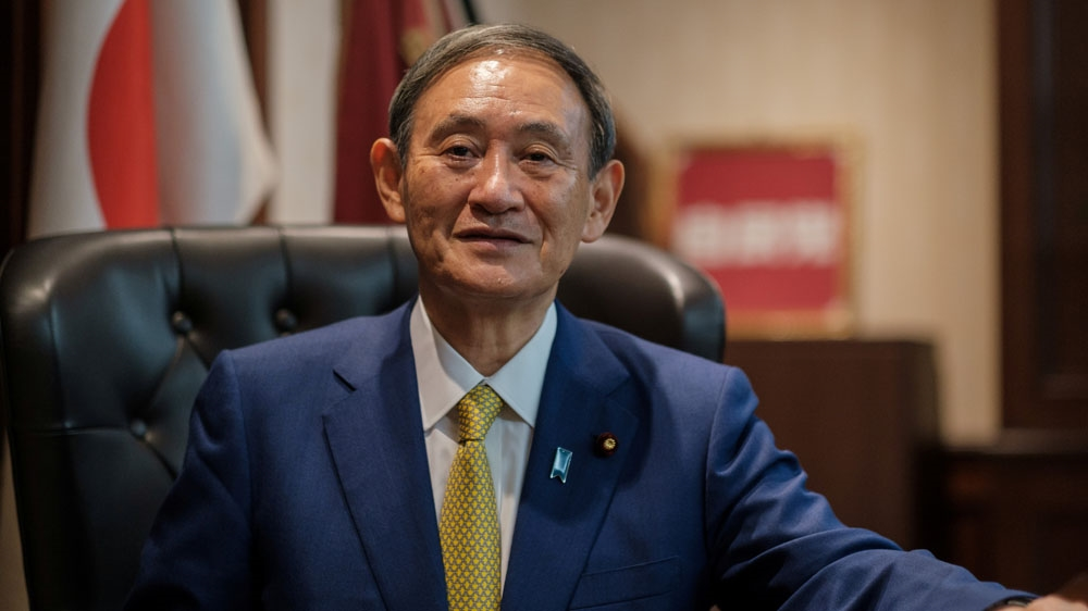 News of the formidable challenges awaiting Suga's inauguration as Japan's prime minister