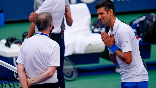 Novak Djokovic says he has learned a 'big lesson' from the US Open default