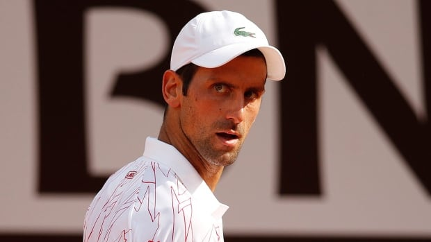 Novak Djokovic smashes racquet in Italian Open quarterfinals