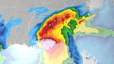 Sally's two biggest threats are inland flooding and the rise of hurricanes