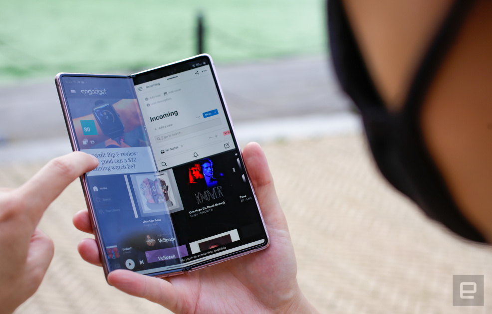 Samsung Galaxy Z Fold 2 Review: The world is waiting to change