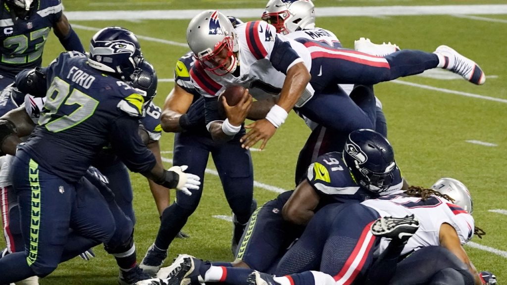 Seahawks defeated Newton in the final play, the Patriots in the thriller