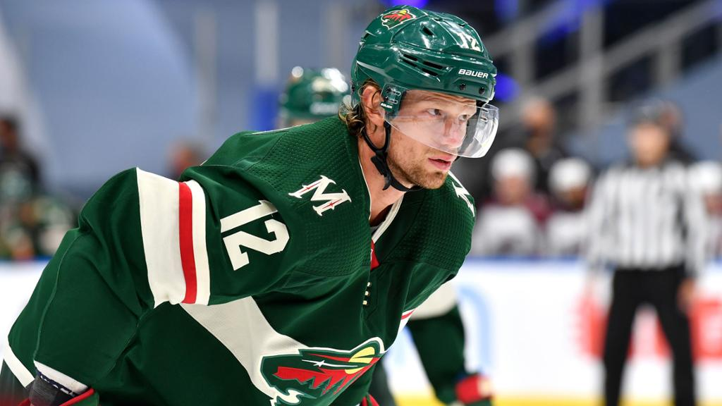 Stall said the reunion with Sabers GM would help with the 'shock' of trading from the Wild
