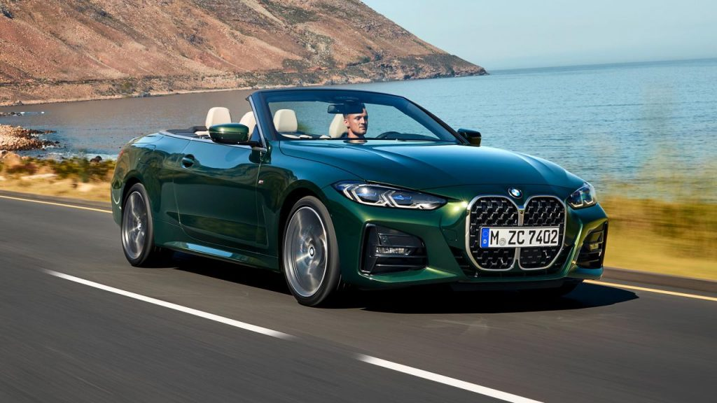 This is the new BMW 4 Series Convertible