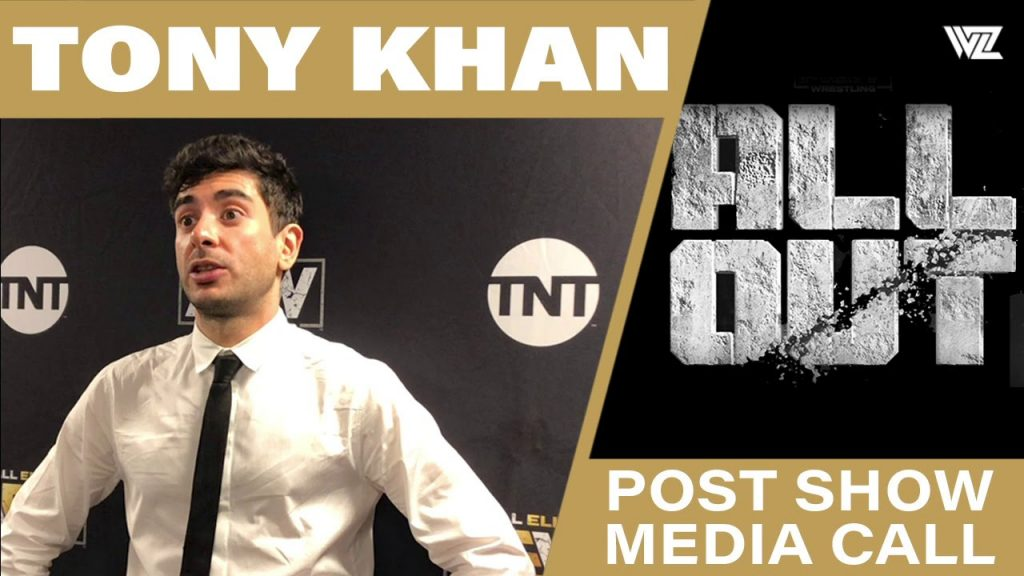 """When Tony Khan discusses the """"Gray Area"""", when it comes to some talent monetizing by third parties"""